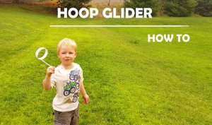 how to build a hoop glider