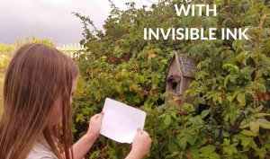 no-heat invisible ink