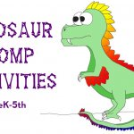 Dinosaur Stomp Outdoor Activities for preK-5th
