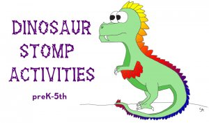 dinosaur stomp activities