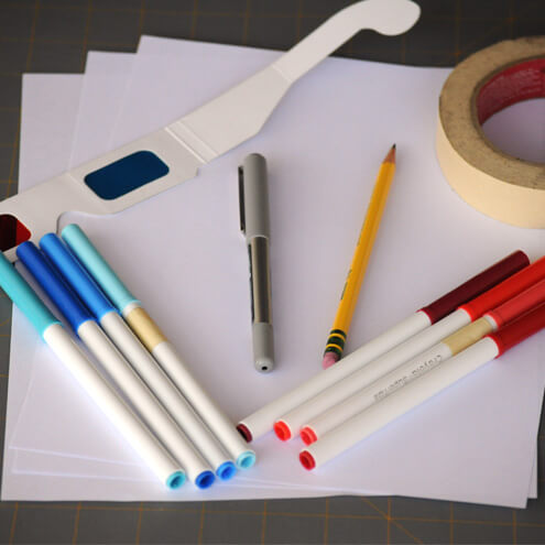 3D image supplies