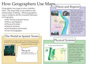 how geographers use maps from student atlas of oregon