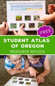 student atlas of oregon geography review