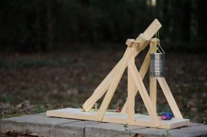 How to Design and Build an Efficient Trebuchet